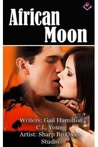 African Moon (Romance Graphic Novel)